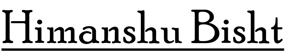 himanshu logo
