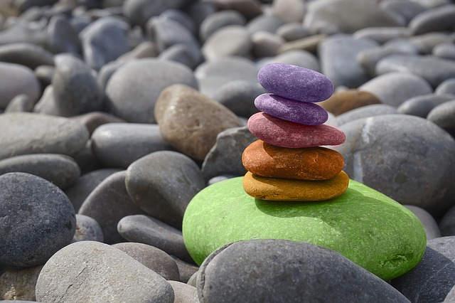 zen meditation illustration