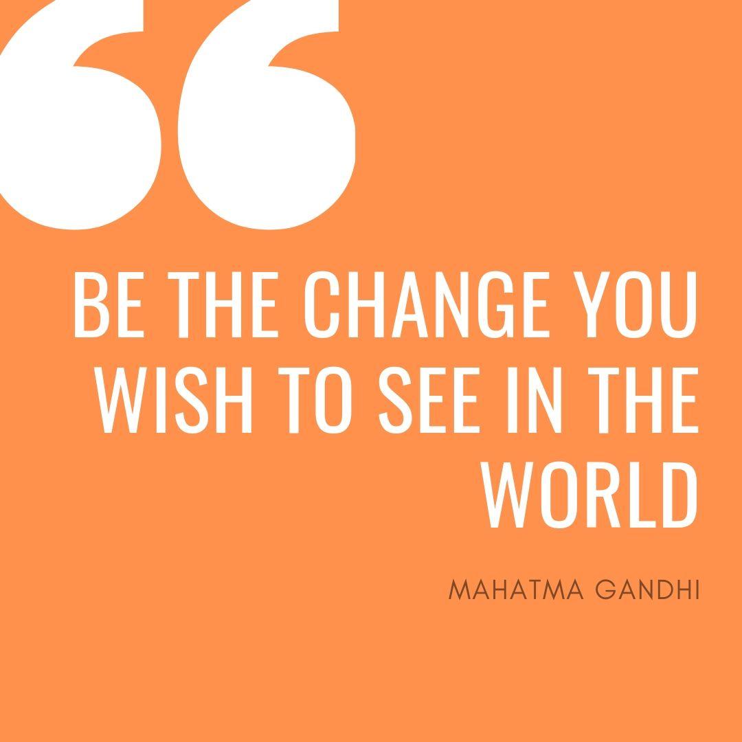 Gandhi's best lines for new entrepreneurs