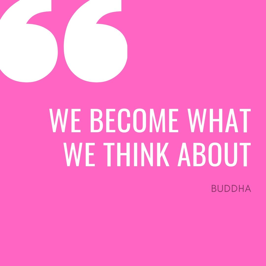 Buddha's quote on thoughts and mind