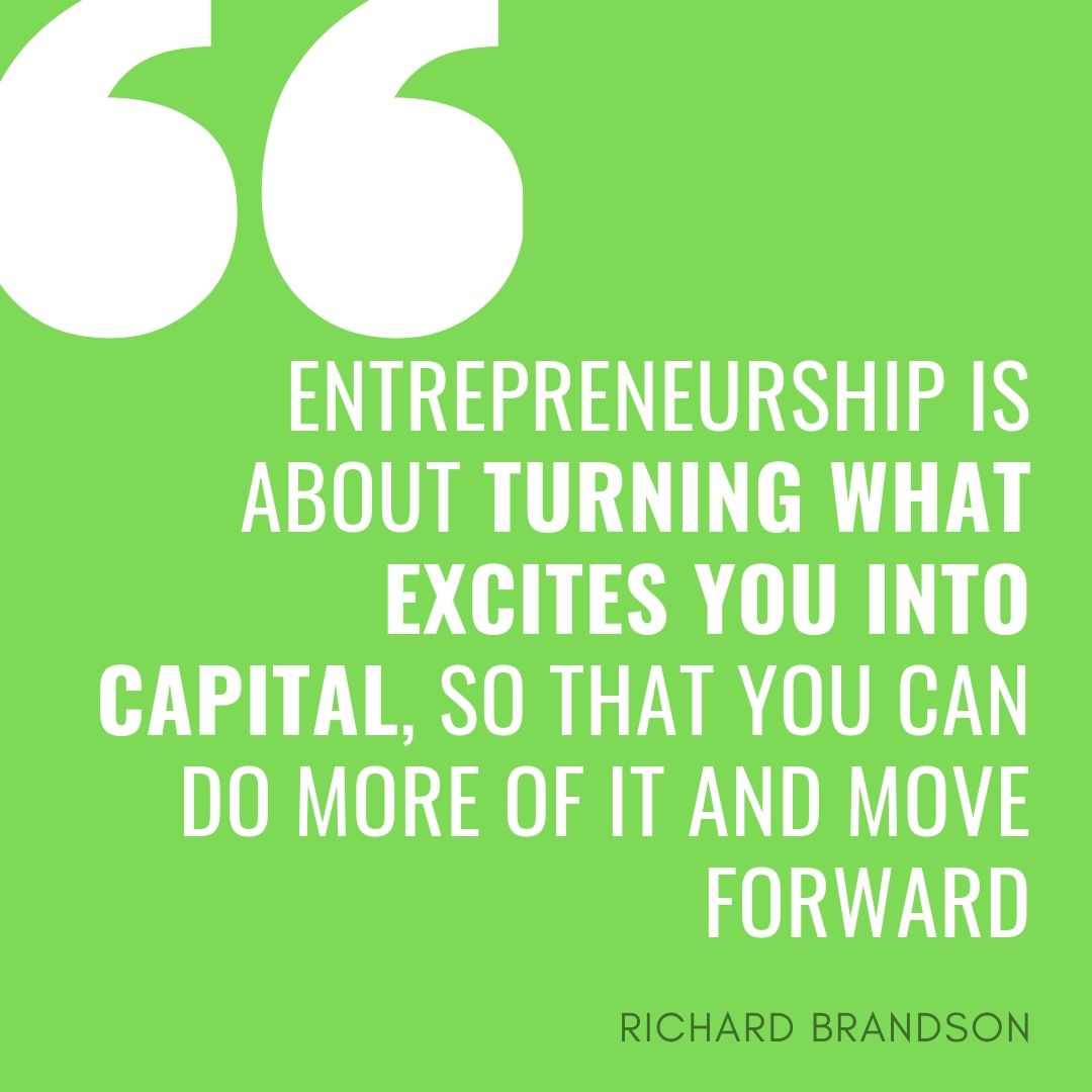 Richard Brandson about following your passion and success