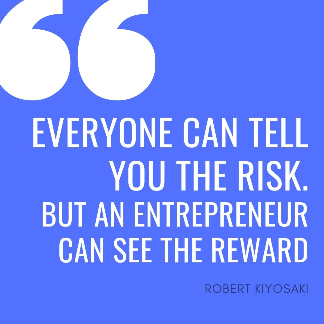 Robert T Kiyosaki's best entrepreneurship quote
