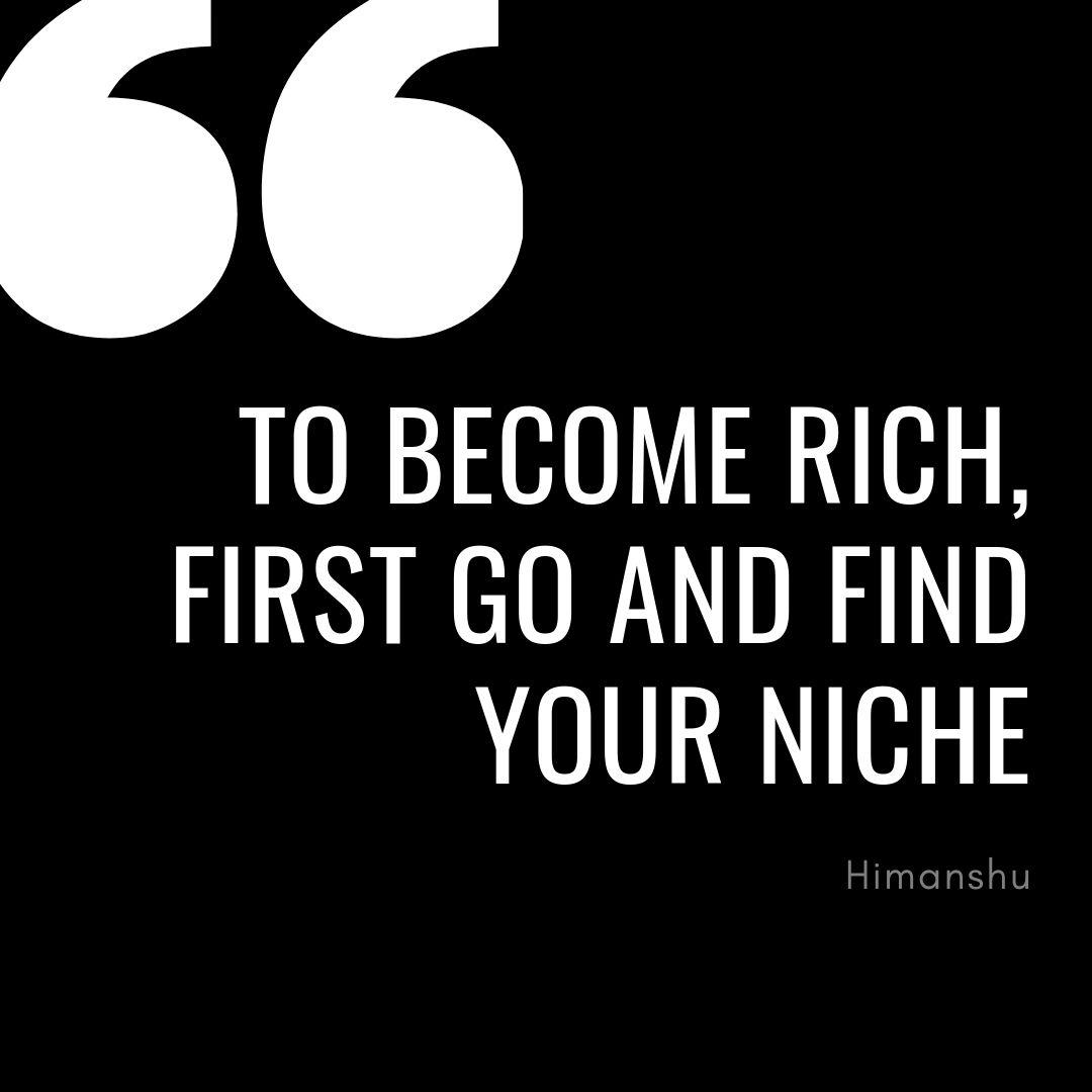 Rich thought for aspiring entrepreneurs