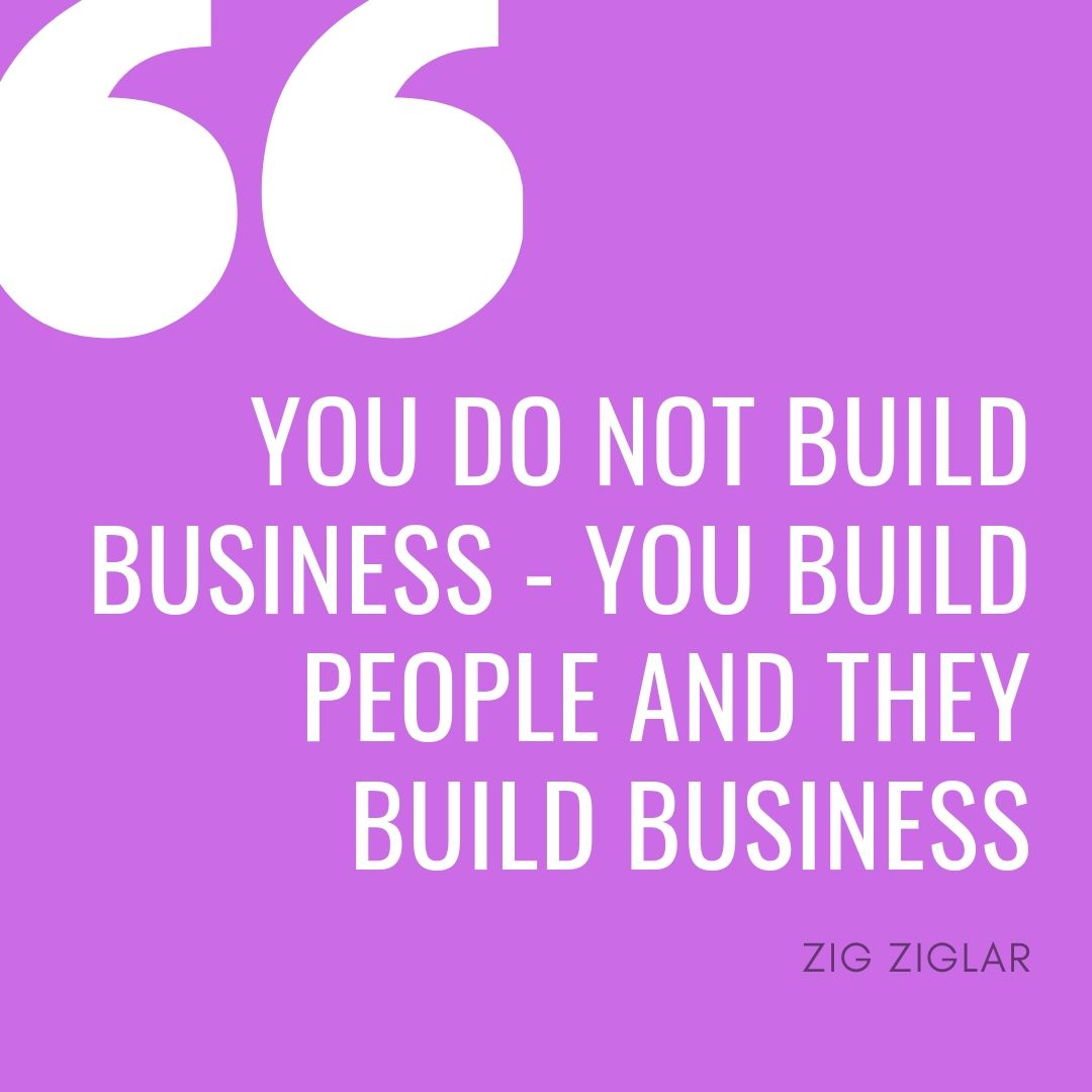 Zig ziglar's words on leadership and entrepreneurship