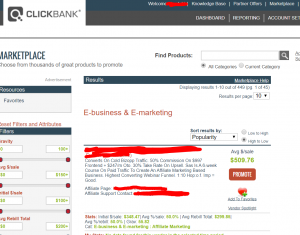 clickbank affiliate program for new affiliates
