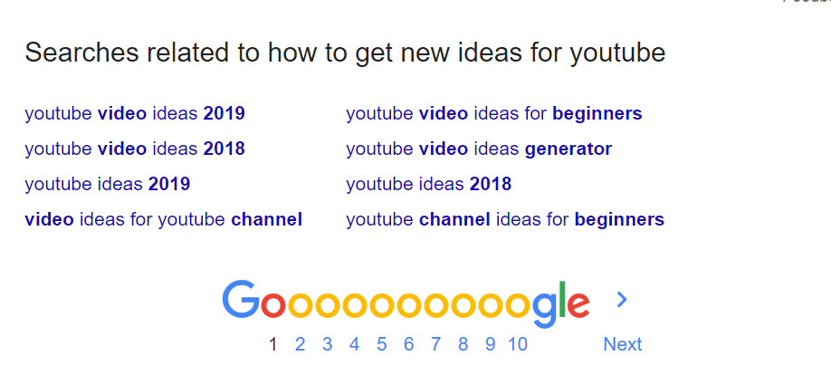 Fresh youtube video ideas