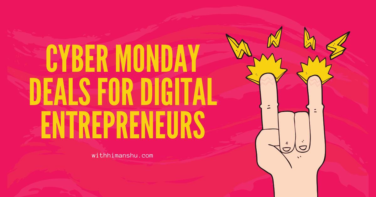 cyber monday for entrepreneurs