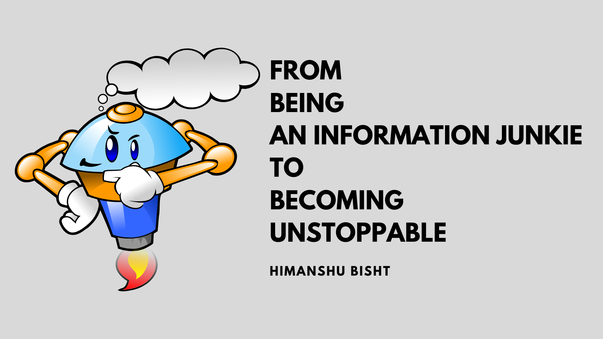 stop being an information junkie