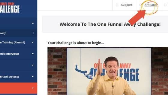 OFA affiliate program login example