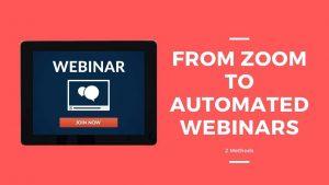 zoom automated webinar