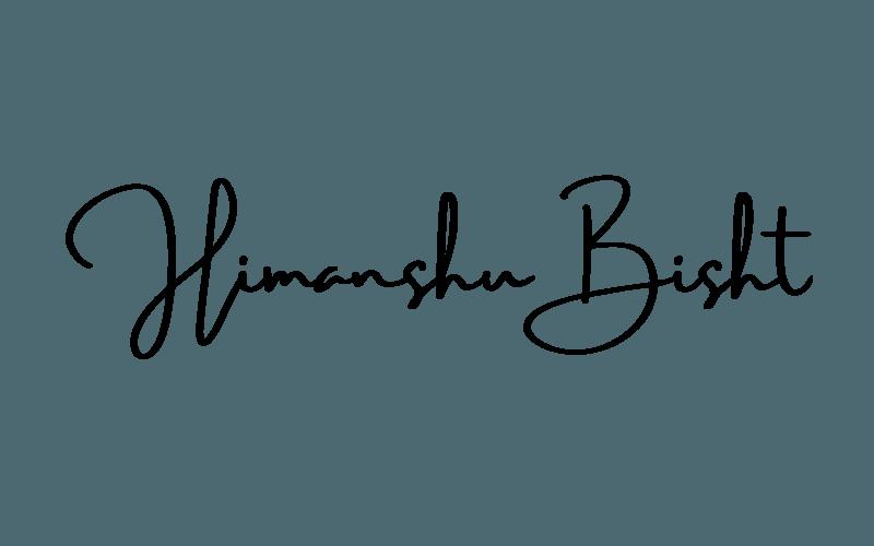 Himanshu Bisht - logo