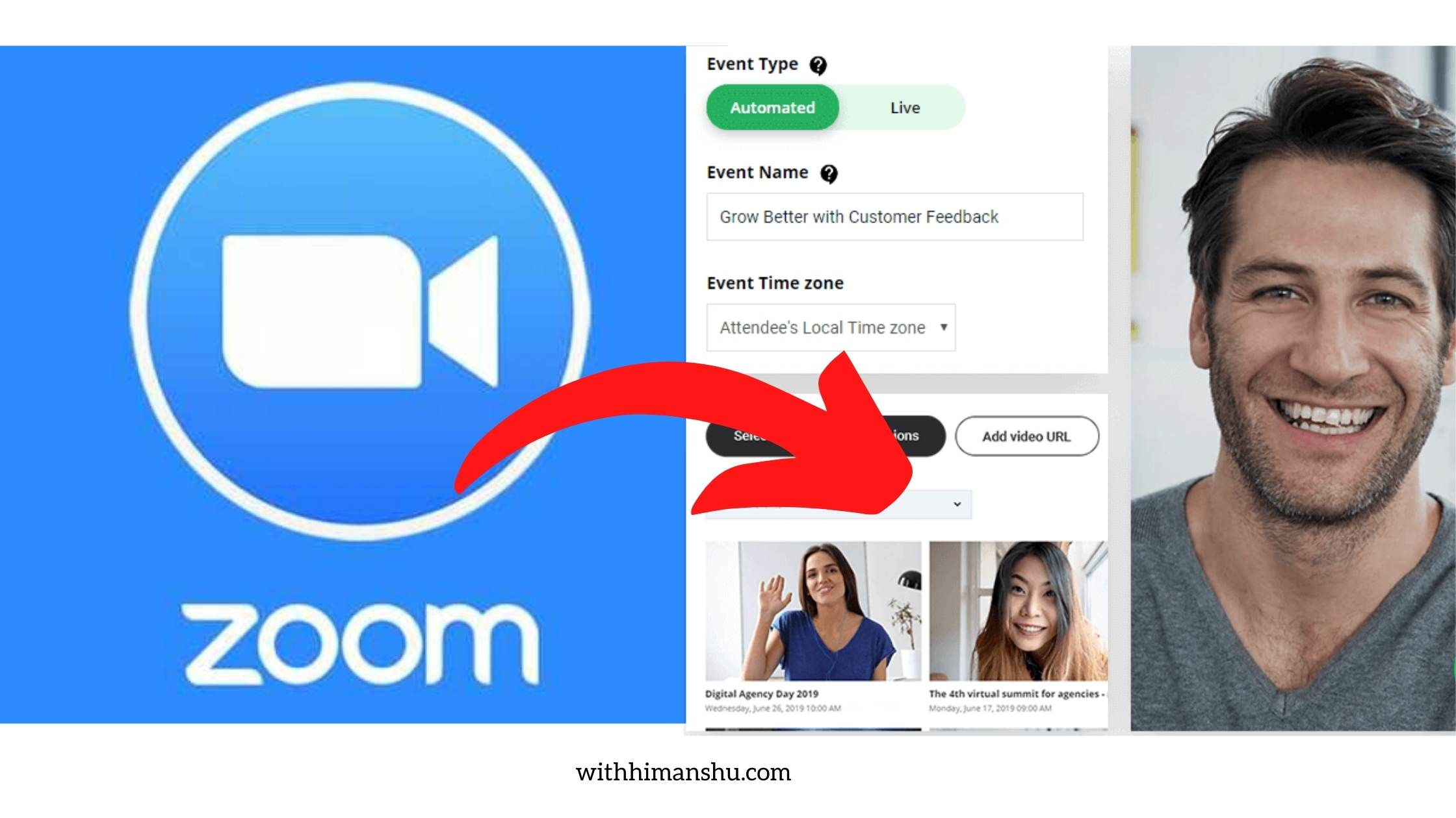 zoom to automated webinars
