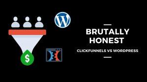wordpress vs clickfunnels