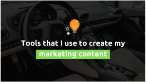 tools to create content